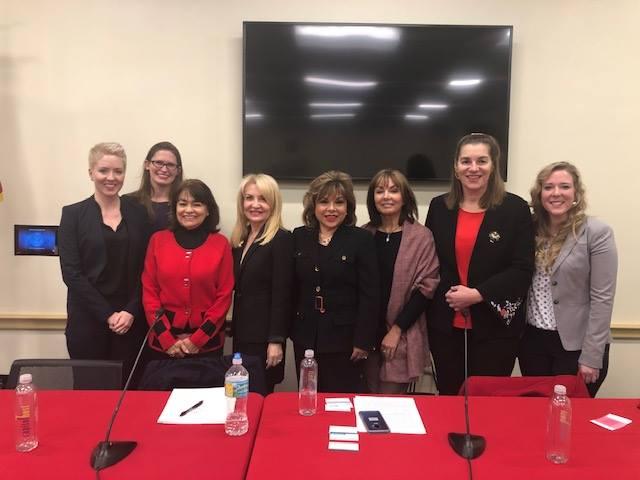 Alma Tucker invitada al Congreso de Estados Unidos a exponer en foro del Día Internacional de la Mujer en Washington, D.C.